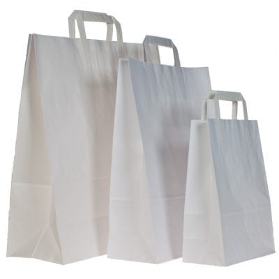 Plain Paper Carrier Bags