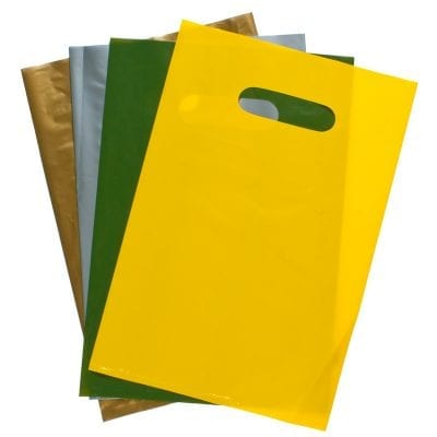 Plain Polythene Carrier Bags