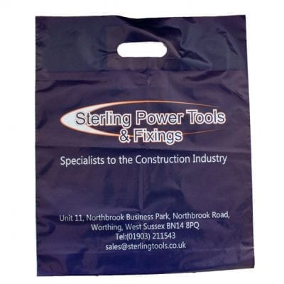Printed Polythene Carrier Bags